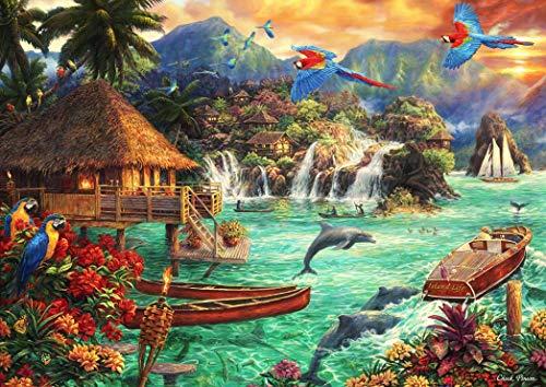 Puzzle Island Life 2000 piezas Bluebird