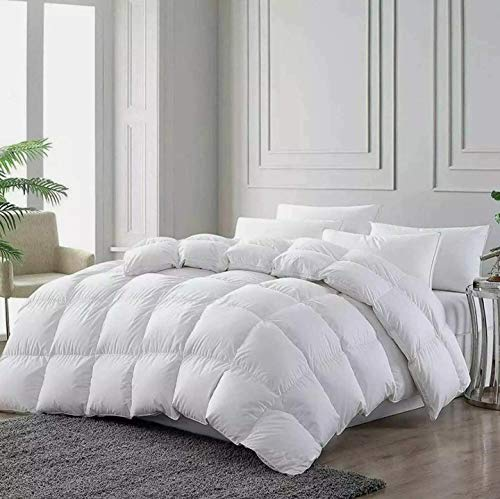 Bedding Home Duck Feather & Down Box Stitched Duvet Quilt Single Double King Super King 13.5 TOG (Single)