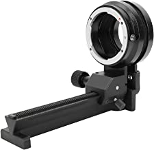 Oumij Bellow Macro Macro Extension Bellows Macro Close Up Bellows Compatible with Tripod for Nikon F Mount Lens D2Xs D2Hs D2X D2H D1X D1H D1 D7100