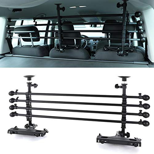 Tenzo-R 37784 PKW KFZ Auto Kombi Hundegitter Gepäck Schutzgitter verstellbar universal