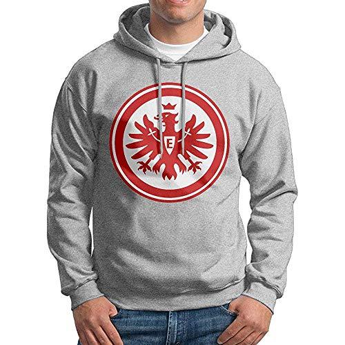KUATA Men Eintracht Frankfurt Logo Custom Cool 100% Cotton Hoodie