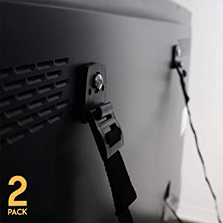 TV Anti Tip Straps (2 Pack) - Baby Proof Furniture Wall Anchor Kit - Earthquake Safety for Flat Screens & Shelves