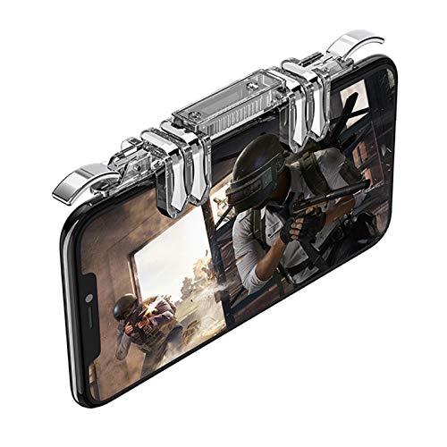 WDFDZSW Neue Mobile Gamepad Android-Trigger-Schlüssel zum Ziel-Schlüsselverarbeitung Smartphone-Spiel Controller iPhone PUBG