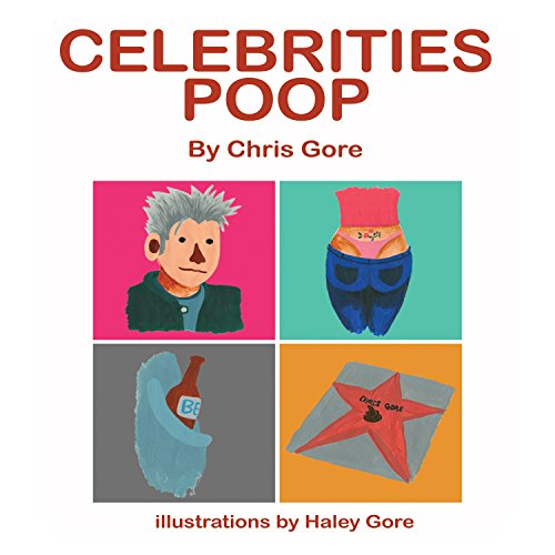 Celebrities Poop audiobook cover art