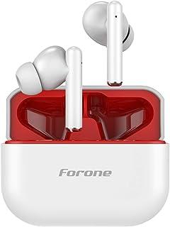 Forone Audífonos Inalámbricos, TWS Audifonos Bluetooth 5.0 Deportivos para Correr , Mini In-Ear Auriculares Inalambricos d...