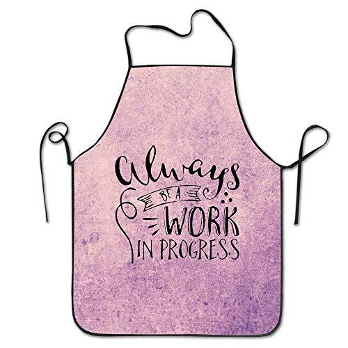 N\A Who Needs Therapy.PNG Delantal de Cocina para Mujer Vestido de Delantal de Arte Hombres Delantal de Cocina Delantal
