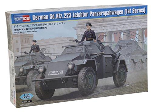 Hobby Boss 083817 – Modèle Kit, 1/35 Plus léger en Plastique Char spähwa gensd. Kfz 223