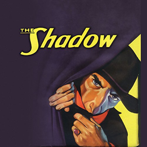 The Shadow's Revenge audiobook cover art