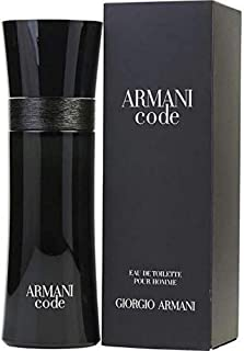 Giorgio Armani Code Eau de Toilette Spray for Men, 75ml