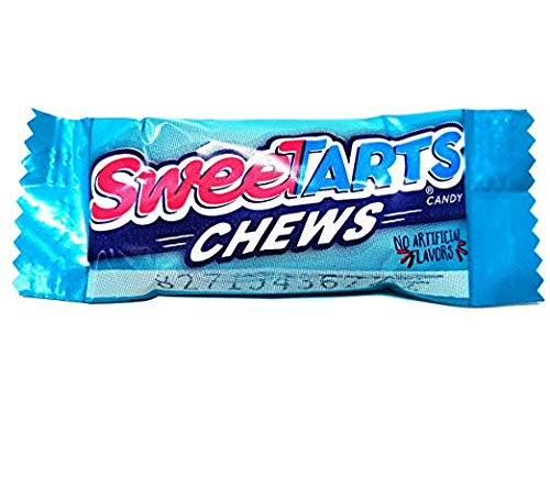 RiverFinn Delicious SweeTarts Chews! Tangy & Tasty Taffy! Individually Wrapped Fun Size Bulk (5 Lbs.) Great for Lunches, Gifts, Parties, Candy Bowls & Buffets, Movie Nights & more!