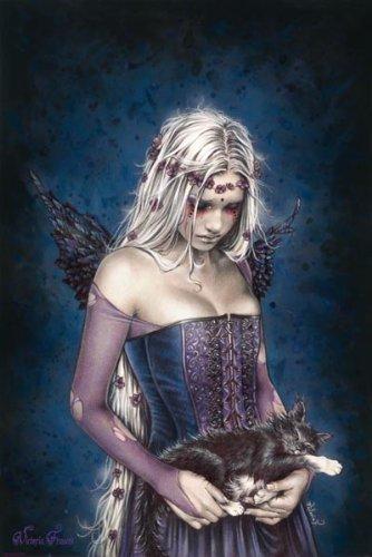 1art1 39865 Gothic - Angel Of Death, Victoria Frances Poster 91 x 61 cm