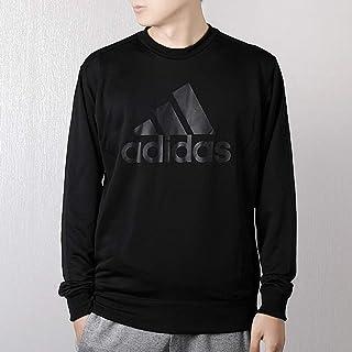 adidas 阿迪达斯男装 春季 运动服休闲宽松舒适长袖针织卫衣套头衫