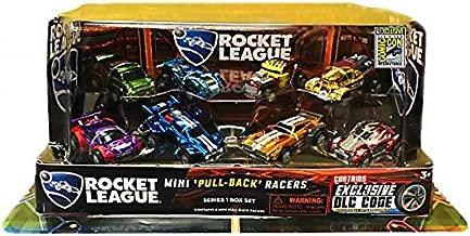 SDCC 2017 Rocket League Exclusive 8pcs PullBack Racer Set with DLC Code & sticker