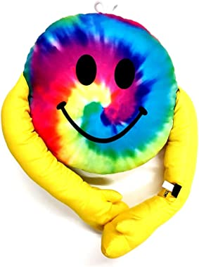 Bunk Junk Confetti and Friends Autograph Camping Pillows Smile Hug Design for Camp Includes Permanent Marker