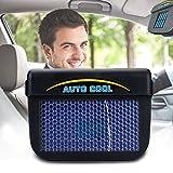 LISRUI Ventilatore A Energia Solare Ventilatore di Scarico Auto Ventola Automatica di Raffreddamento Ventola Automatica di Raffreddamento