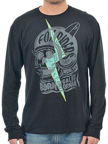 Fox Racing Grip Long Sleeve T-Shirt Small Black