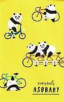 ぽち袋 10枚 パンダが自転車に乗っている 転倒した