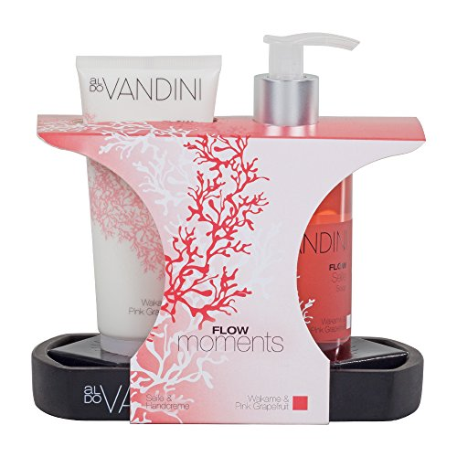 aldoVANDINI Geschenkset Soap und Cream Flow, 1er Pack (1 x Set)