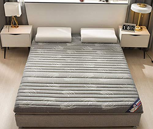 Verdickte Matratzenauflage, zusammenklappbare, atmungsaktive, weiche, aufrollbare, allergiefreie, einfach aufstellbare Matratze für Wohnheime Japanische Tatami-b 120 x 200 cm (47 x 79 Zoll)