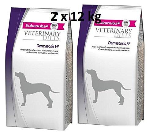 Eukanuba Dermatosis FP Veterinary Diets 2 x 12 kg = 24kg