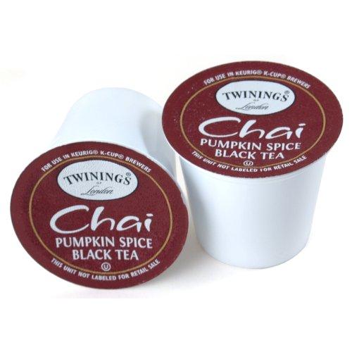 Twinings Pumpkin Spice Chai Tea Keurig K-Cups, 72 Count