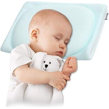 ベビー枕 赤ちゃん 新生児 絶壁防止 Meteore (グリーン)