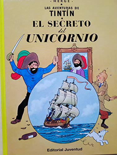 C- El secreto del Unicornio (LAS AVENTURAS DE TINTIN CARTONE)
