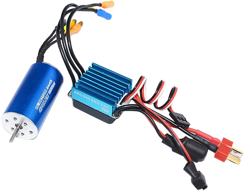 MagiDeal 2445 3600KV 4P 4P 4P Sensorless Brushless Motor & 35A