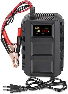 Chargeur de Batterie pour moto Voiture 12V 20A,Mainteneur de Batterie Intelligent avec Technologie de réparation par impul...