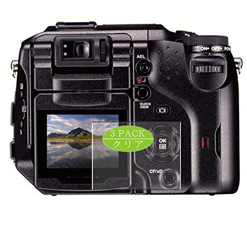 3枚 VacFun フィルム , Olympus Camedia C-5060 Wide Zoom 向けの 保護フィルム 液晶保護 フィルム 保護フィルム(非 ガラスフィルム 強化ガラス ガラス ) 改善版
