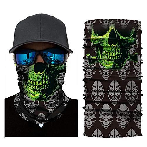 RKWEI Multifunctionele Hoofddeksels 3D Clown Print Multifunctionele Magic Sjaal Elastische Naadloze Bandana Nekbescherming Fietsen Sjaal Zon En Uv Bescherming Outdoor Hoofddeksels