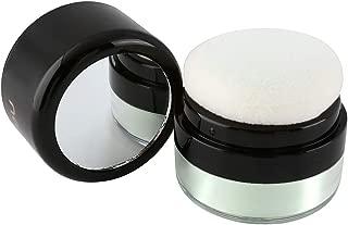 CCbeauty Loose Powder Oil-control Makeup Setting Powder Mushroom Head Professional Brightening and Smooth Skin Highlighting, Green