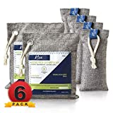 Nature Fresh Air Purifier Bags - Activated Charcoal Bags Odor Absorber, Odor Eliminator for House, Shoe...