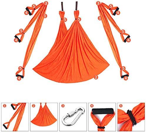 Indoor Reverse Aerial Yoga Hangmat Yoga Swing Fitness Hangmat Outdoor Parachute Doek YOGA HAMMOCK,10