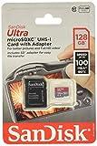 Sandisk Ultra - Flash Memory Card - 128 GB - MicroSDXC UHS-I, Black (SDSQUNC-128G-AN6IA)
