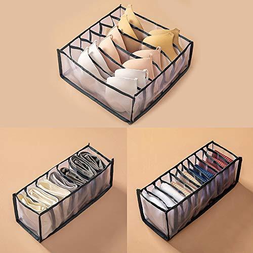 NOPNOG Home Cajones de almacenamiento, armario organizador, para ropa interior, sujetador,...