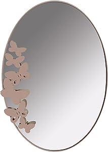 Artiemestieri Miroir en Fer Butterfly Ovale
