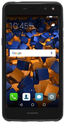 Hülle kompatibel mit Huawei Y7 Handy Case Handyhülle, schwarz - 4