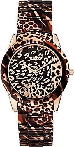GUESS Reloj Analógico para Mujer de Cuarzo con Correa en Acero Inoxidable 8434103077690