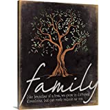 Family - Like Branches of a Tree Canvas Wall Art Print, 16'x20'x1.25'