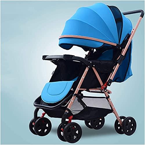 Cochecito recién nacido del cochecito recién nacido Caminante infantil infantil, cochecito de niño ligero cómodo y duradero, con sombrillas de ventilación, colchas ampliadas y ensanchadas