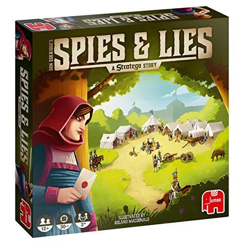 Jumbo Spiele - Spies & Lies - A Stratego Story, Strategiespiel - Ab 12 Jahren: Eine Stratego-Geschichte