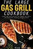 The large gas grill cookbook: Simple and tasty recipes for friends and family including dips, desserts and side dishes