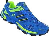 Herren Sportschuhe Sneaker Turnschuhe Schuhe Übergröße gr.47-49 Art.-Nr.1326 royal-grün (48)