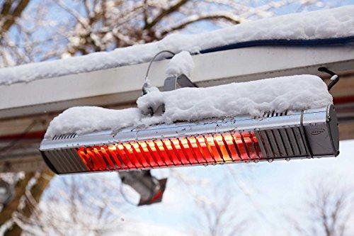 Infrarot-Heizstrahler 1.500 Watt - TERM2000 IP67 - wasserdicht für Terrasse, Balkon oder Gastronomie