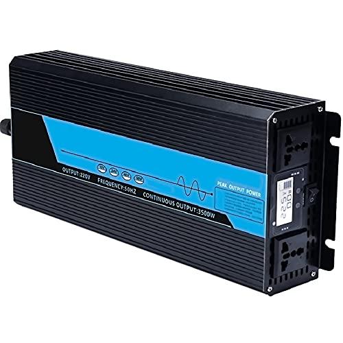 LONGRING Inverter di Potenza ad Onda sinusoidale Puro, 12 V / 24V / 48 V / 60V a 230V Display Digitale Multifunzione 3500W / 4500W / 5500W / 6000W / 7000W Home Auto Booster Converter,48v 220v 4500w