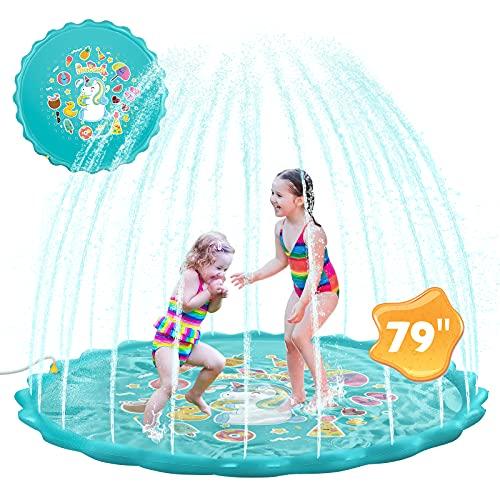 Hommie Arroseur extérieur pour enfants, piscine d