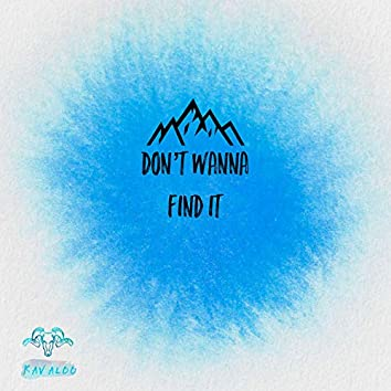 Don't Wanna Find It