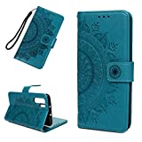 Huawei P30 Pro Case, Shockproof Premium PU Leather Notebook
