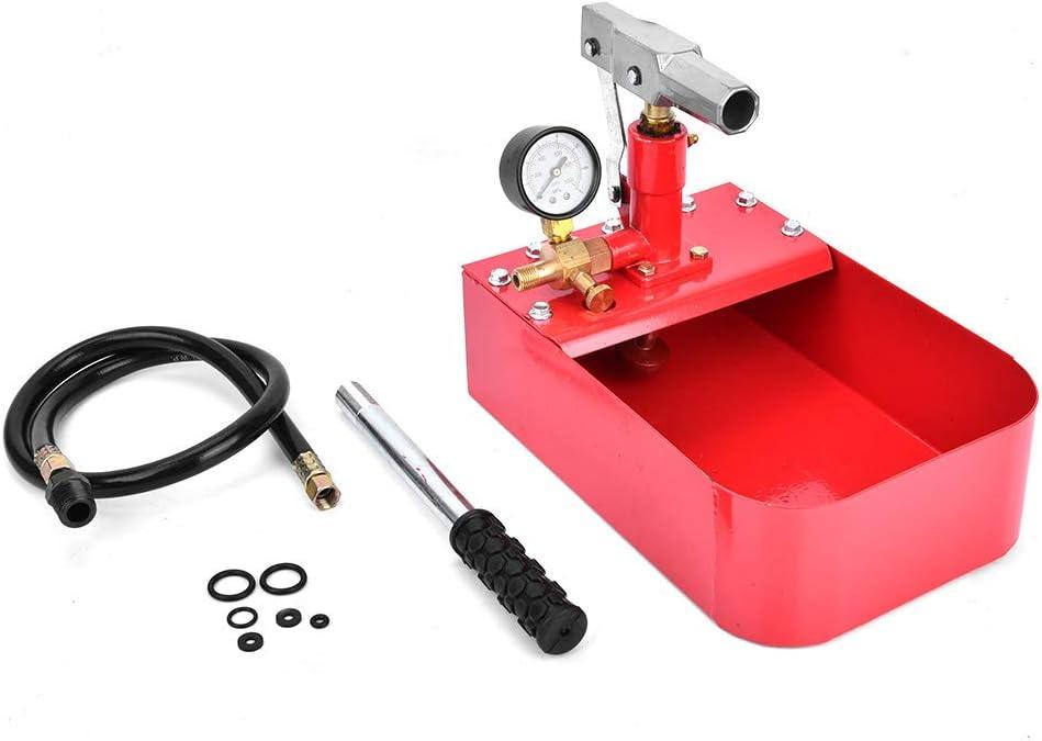 Pipe 5 ☆ popular Pressure Oakland Mall Testing Tool Test Mat 1000PSI Iron Pump